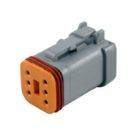 DT06-6S-C017 - DEUTSCH PLUG CONNECTOR - 6 WAY